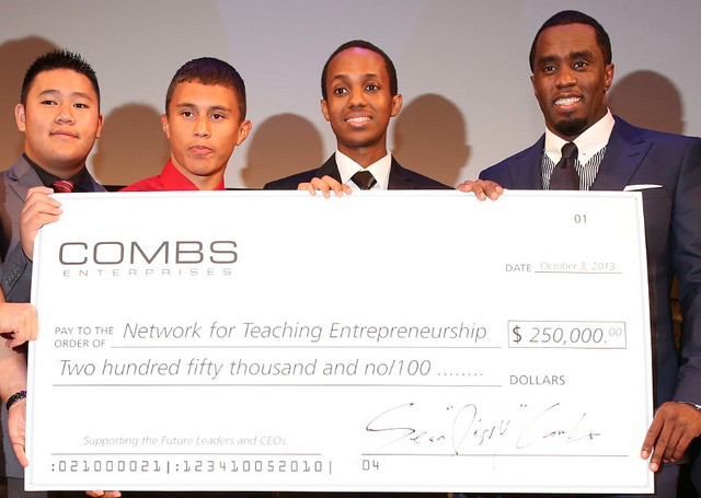 Diddy Gives Back: Rapper Gives Youth Charity $250K