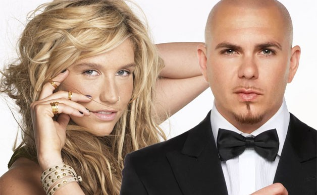 Ke$ha Pours Some Glitter And Makes It Rain On Pitbull's New Single