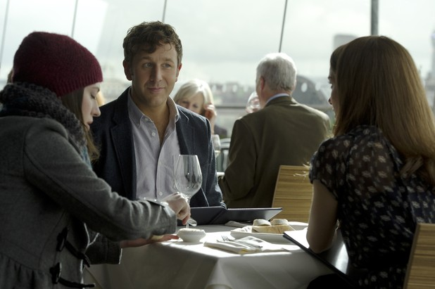 First Look: Funnyman Chris O'Dowd Makes His Moves On Natalie Portman In Thor: The Dark World
