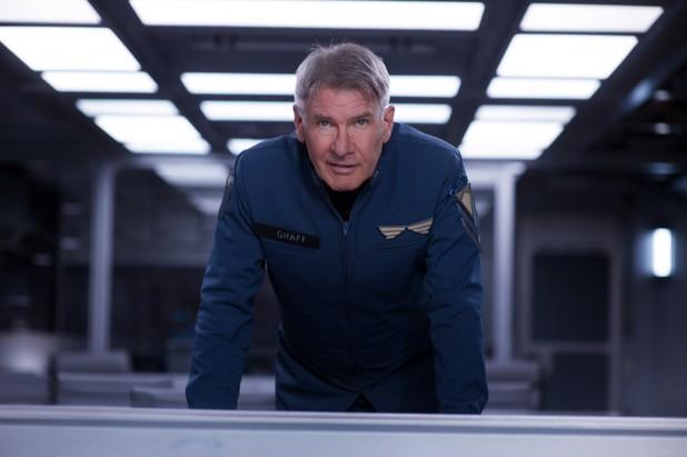 Harrison Ford Defends New Movie Ender's Game