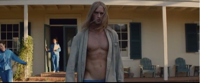Alexander Skarsgård Channels His Inner Fabio For Cut Copy's New Music Video