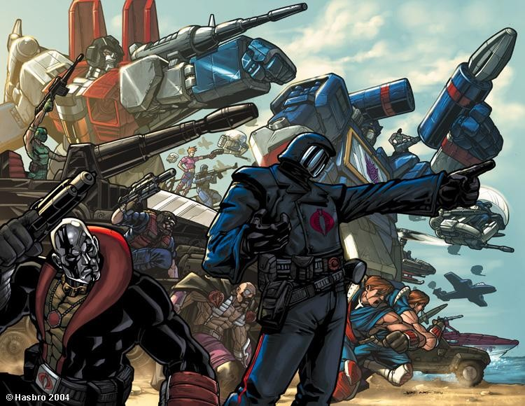 Get Ready Comic Fans: Transformers And G.I. Joe Crossover In The Works