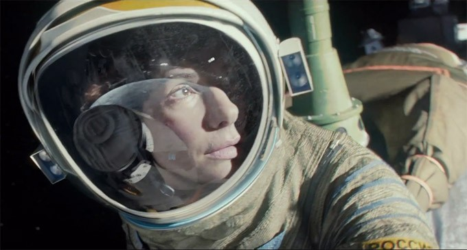 Sandra Bullock Found Herself Flirting With Her Dark Side During Gravity Filming