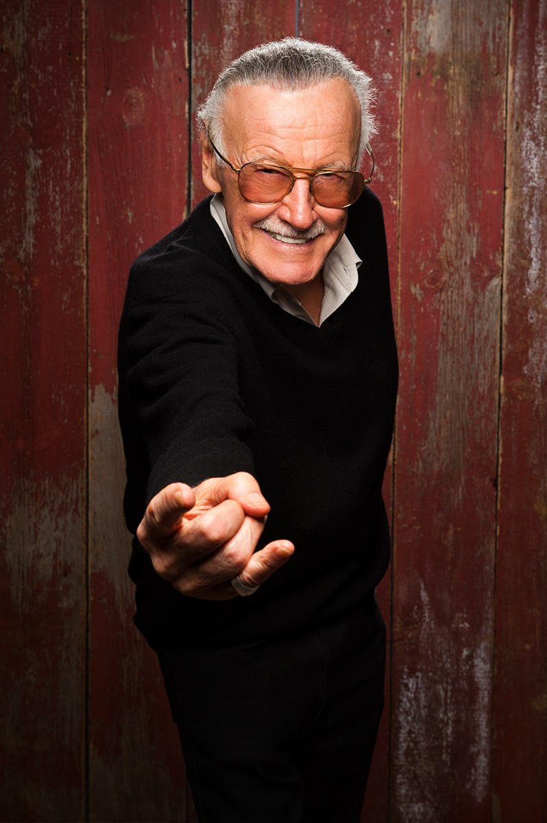 Stan Lee Creates New Superheroes For Interactive Fan Experience