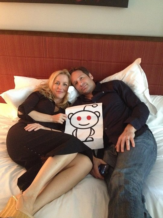 David Duchovny Discusses X-Files 3 During Reddit AMA With Gillian Anderson