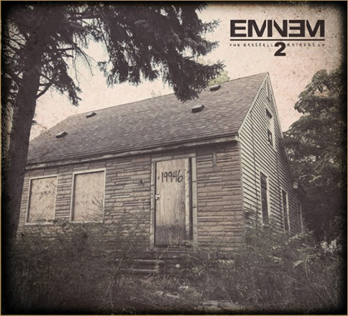 Eminem Releases Track List For The Marshall Mathers LP 2