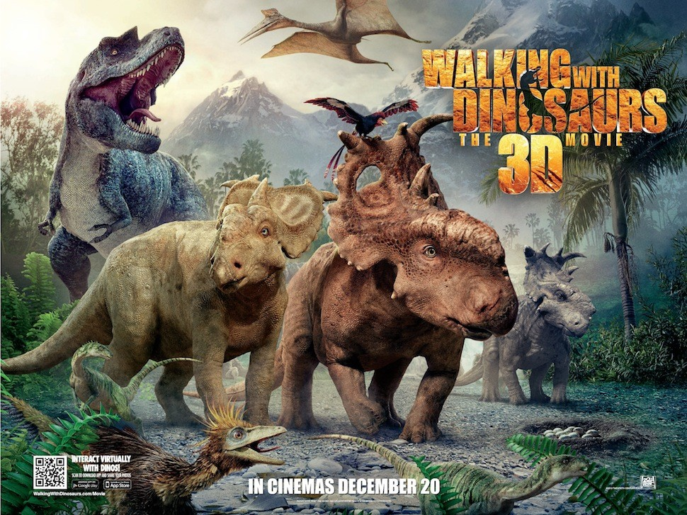 Walking With Dinosaurs: 3D Movie Origins Featurette Released
