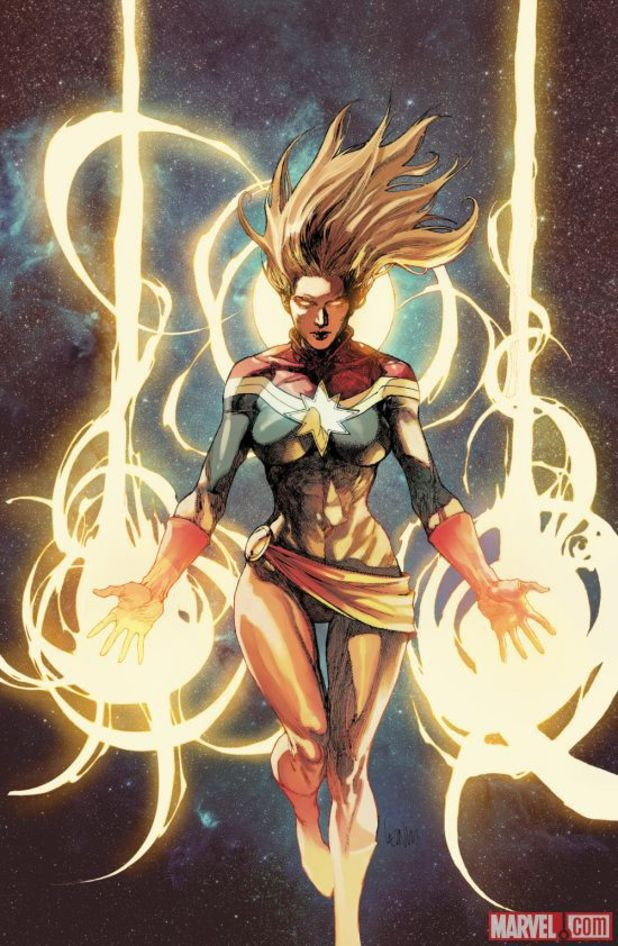 Captain Marvel To Be Relaunched As Part Of The All-New Marvel Now Movement