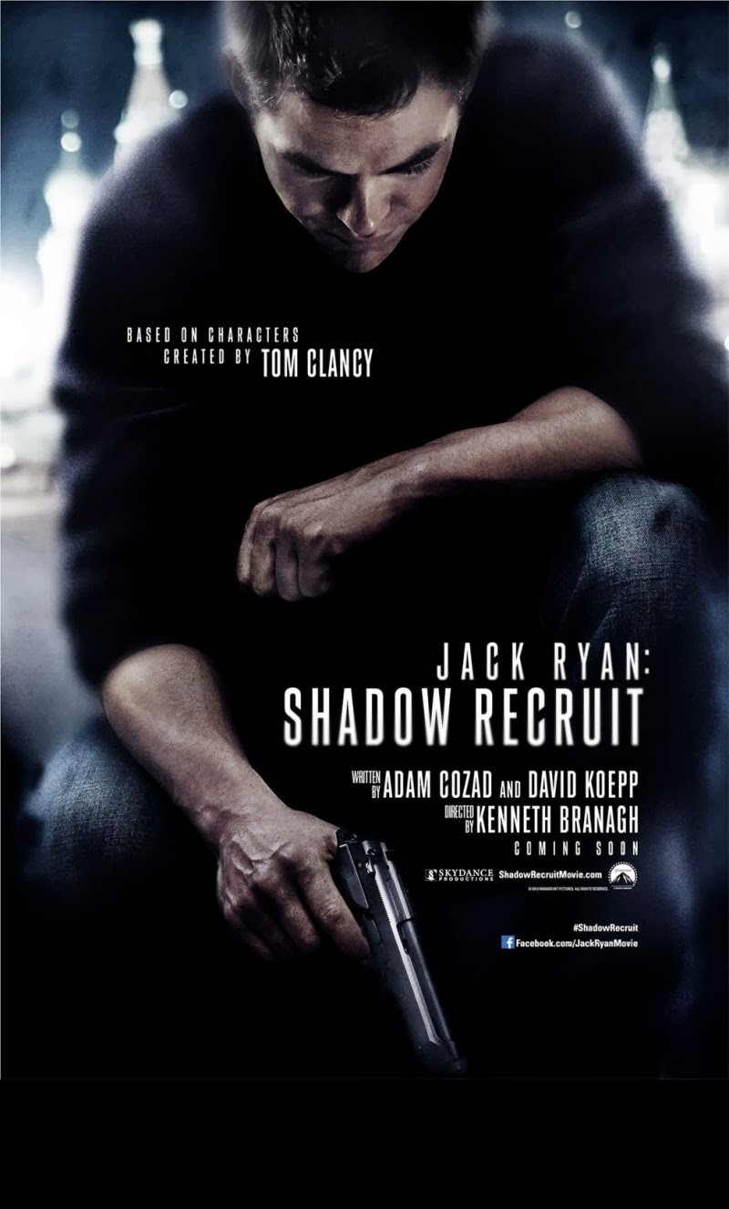Second Trailer For Jack Ryan: Shadow Recruit Debuts