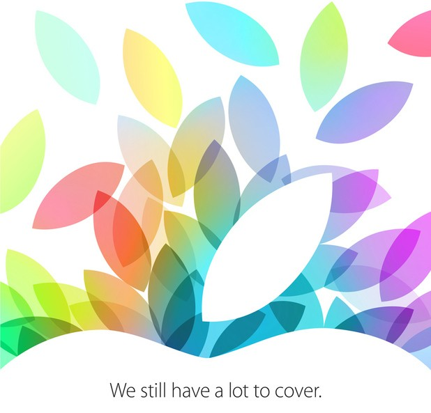 Save The Date: Apple Confirms October 22nd As Potential New iPad Launch