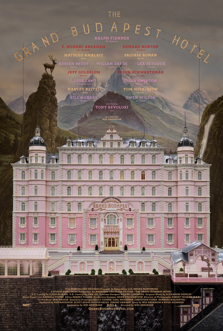 Get A First Look At The Great Budapest Hotel