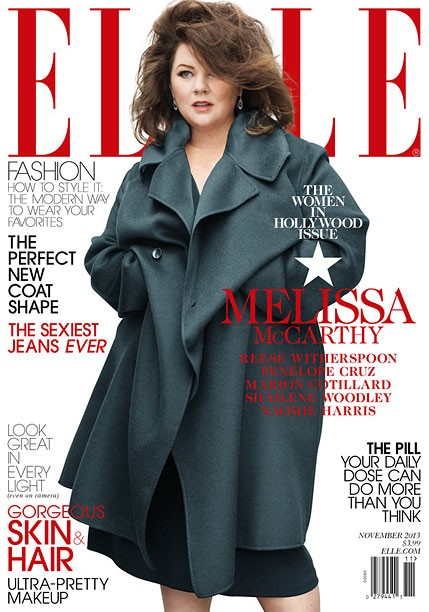 Melissa McCarthy's Elle Cover Breeds Controversy Over Plus-Sized Fashion