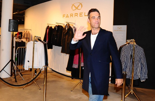 Robbie Williams' Clothing Line Closes Up Shop
