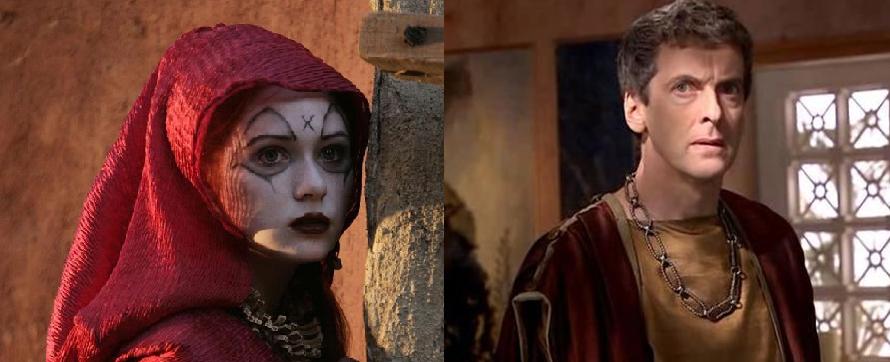 Karen Gillan Thinks Peter Capaldi Is An
