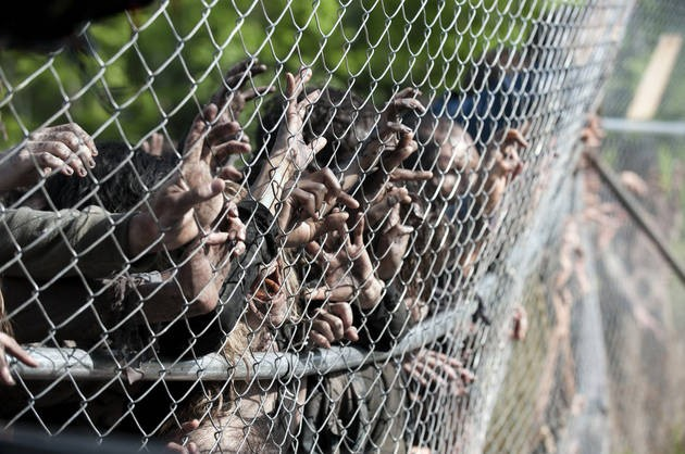 "The Walls [Almost] Come Tumbling Down On The Walking Dead, ""Infected"""