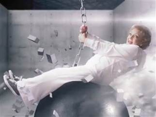 She Came In Like A Wrecking Ball: Betty White Spoofs Miley Cyrus In Promo For Off Their Rockers