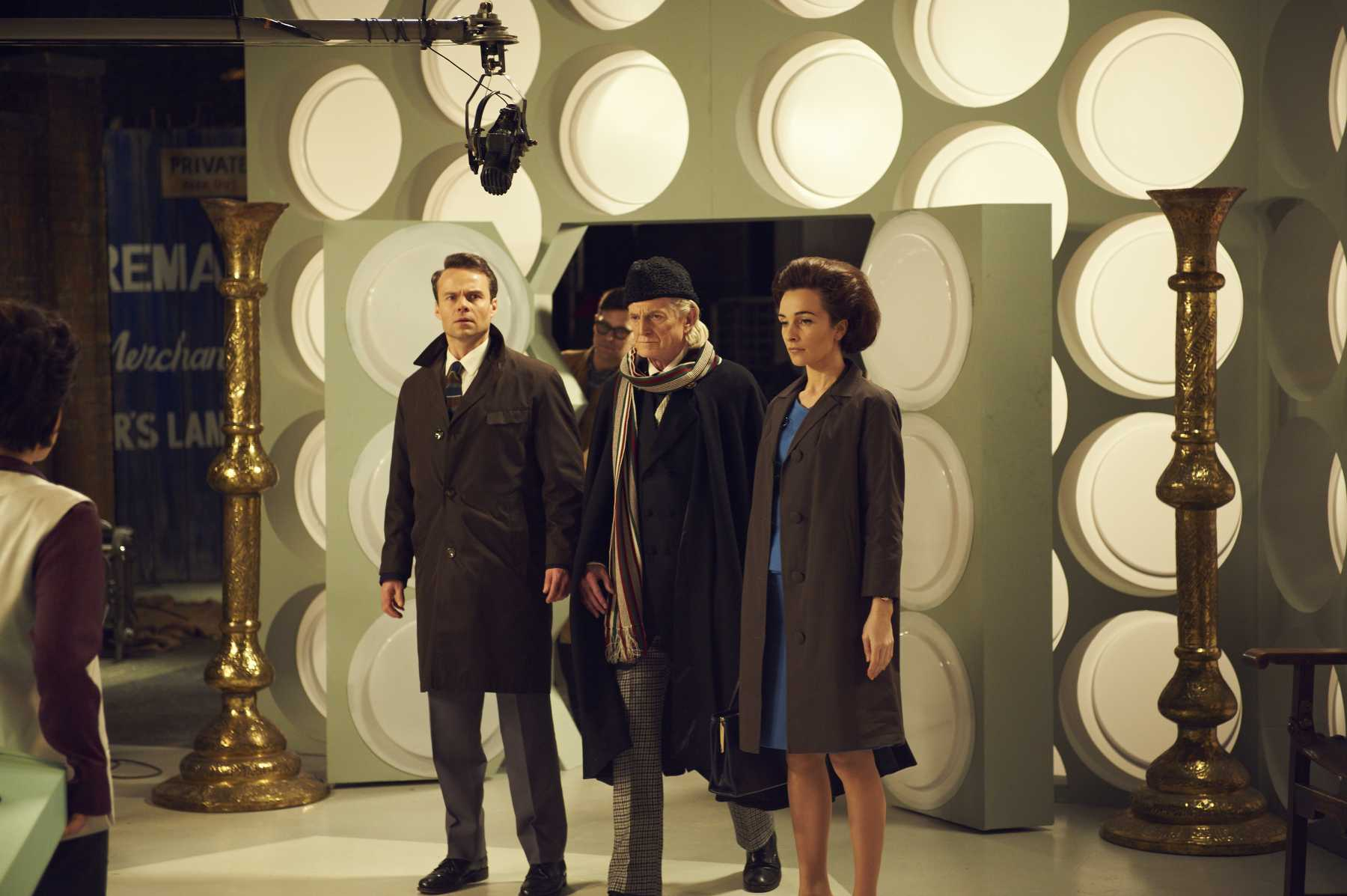 BBC America Releases Three New Stills From An Adventure In Space And Time