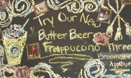 Starbucks Recreates Harry Potter Butterbeer