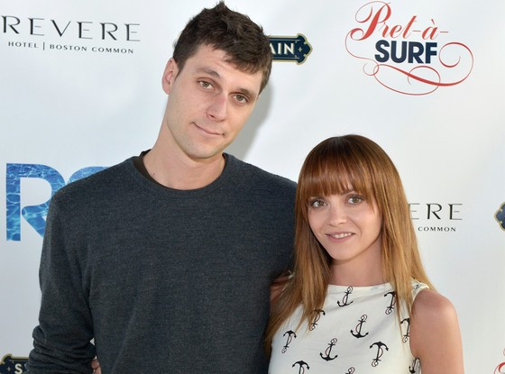 Christina Ricci Weds Dolly Operator James Heerdegen