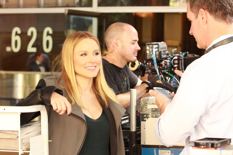 Rob Thomas Shares Sneak Peek Of Veronica Mars Movie