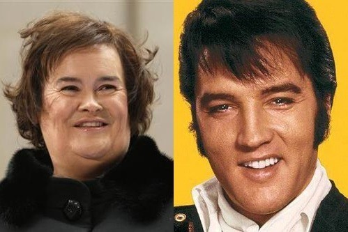 Susan Boyle To Record A Duet With...Elvis Presley?