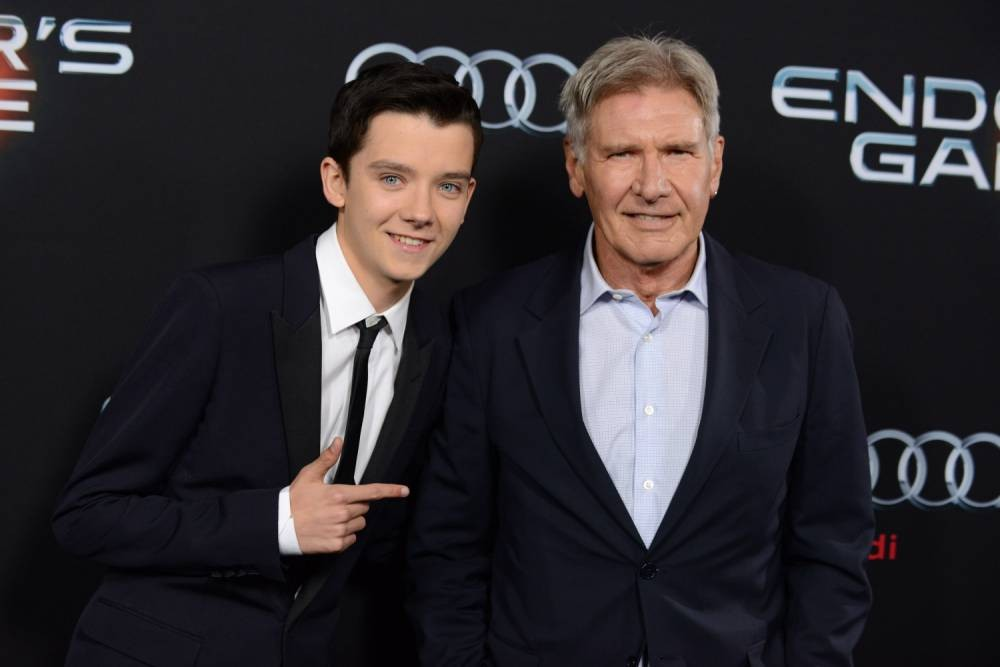 Harrison Ford and Asa Butterfield Chat Star Wars At Ender's Game Premiere