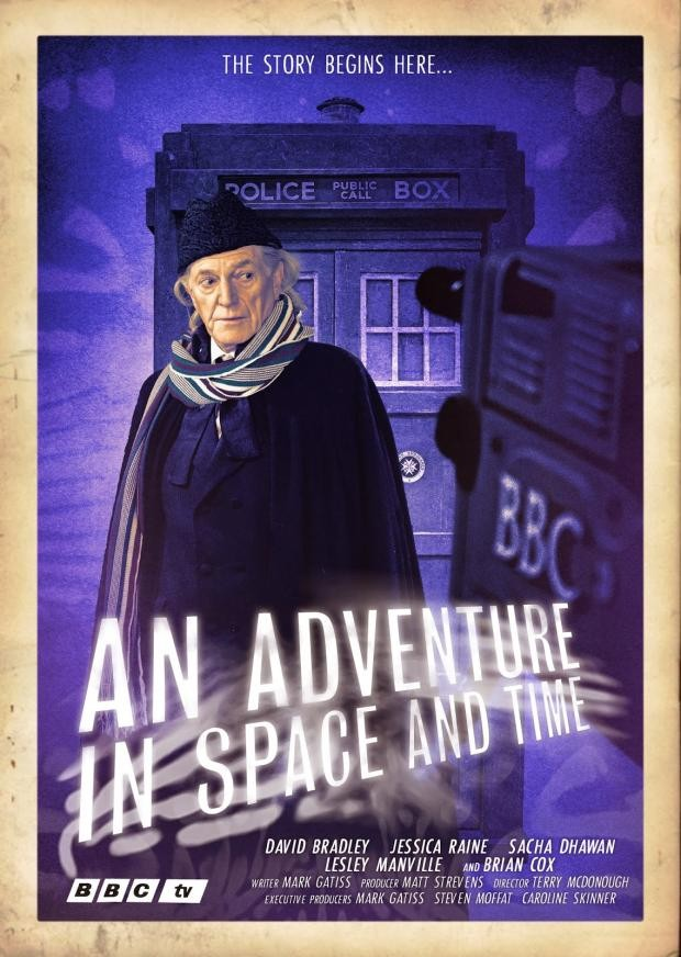 Mark Gatiss Spills On Upcoming Doctor Who Docu-drama, An Adventure In Space And Time