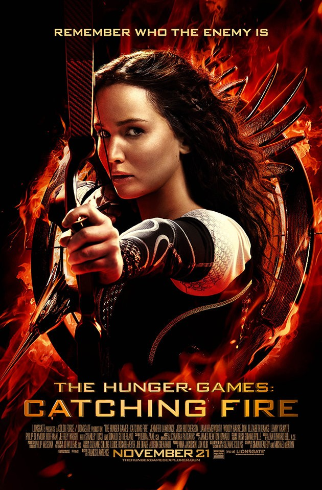 Lionsgate Brings The Heat With Smoldering New Catching Fire Photos