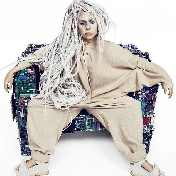 Lady Gaga Reveals Artwork For Final Promo Single Before ARTPOP's Release