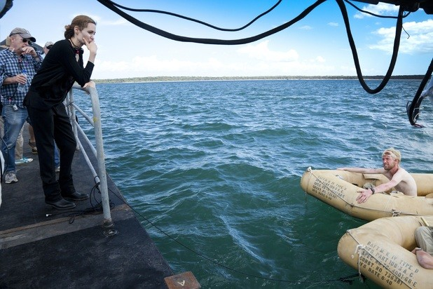 New Behind The Scenes Photos Of Angelina Jolie's Unbroken Released