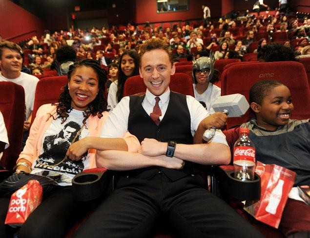 No Tricks, Just Treats: Tom Hiddleston Surprises Kids At Thor: The Dark World Special Screening