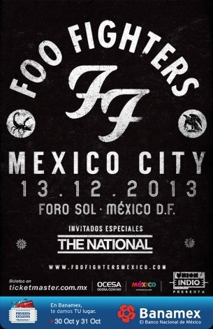 Foo Fighters Emerge From Hiatus With Two Planned Mexico Concerts
