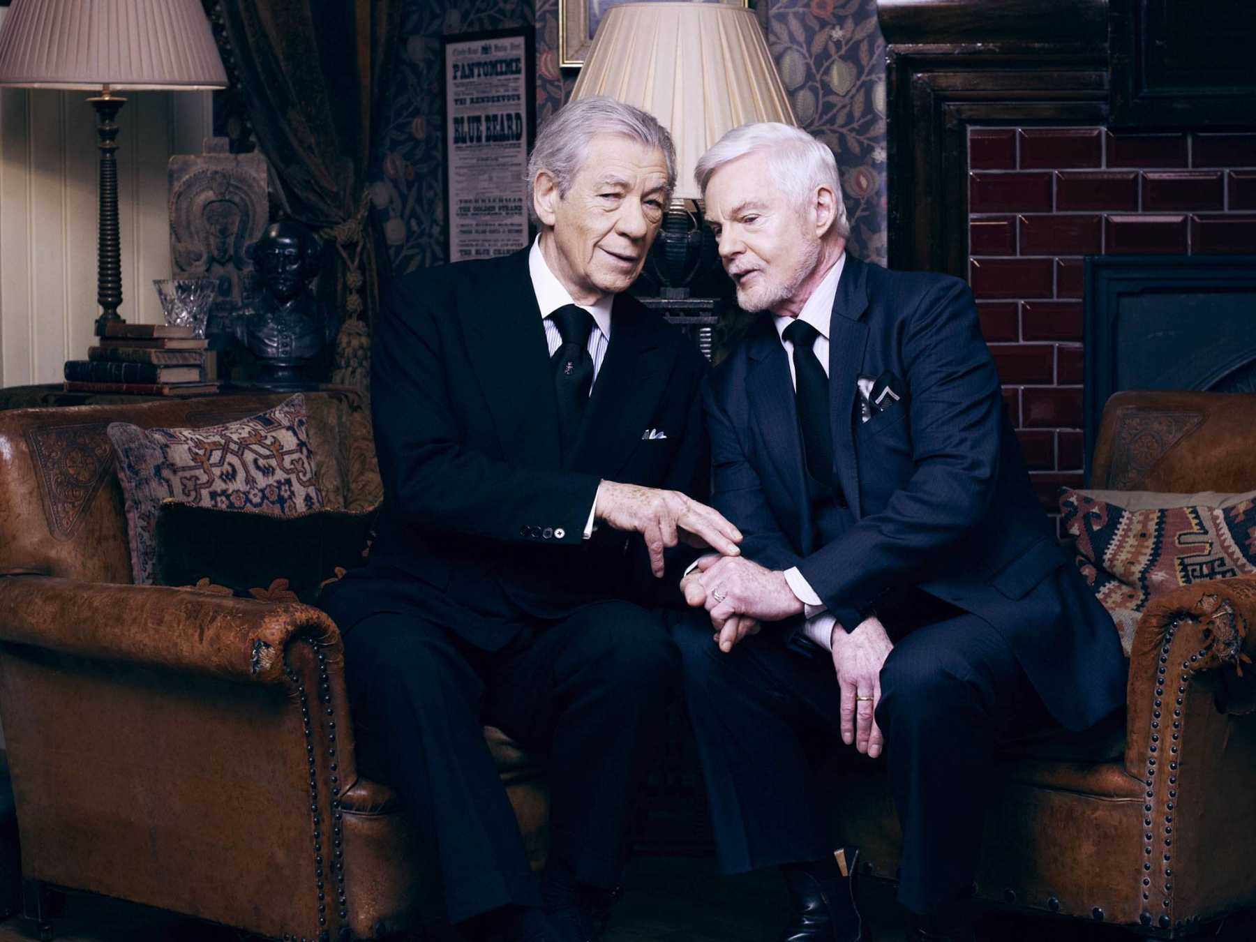 Ian Mckellen and Derek Jacobi's Vicious to Air on PBS in 2014