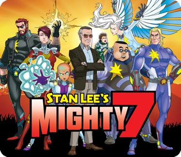 Darren Criss Joins An All-Star Cast In Stan Lee's Mighty 7  v2