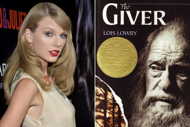 Taylor Swift Learns From Latest Movie Role In The Giver