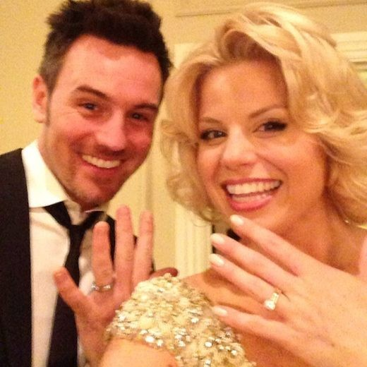 Megan Hilty And Brian Gallagher Skip The Engagement And Head Straight To The Altar