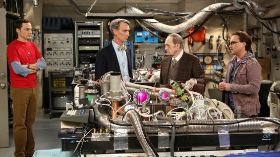 Bob Newhart Returns To The Big Bang Theory And He's Bringing Bill Nye With Him