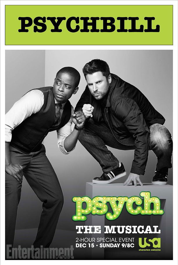 Psych The Musical Episode Air Date And Movie Style Poster Revealed