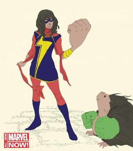 Marvel To Introduce Muslim Female Superhero