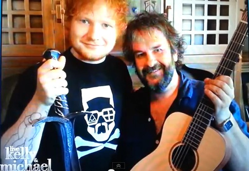 Peter Jackson Releases Music Video Of Ed Sheeran's The Hobbit Track