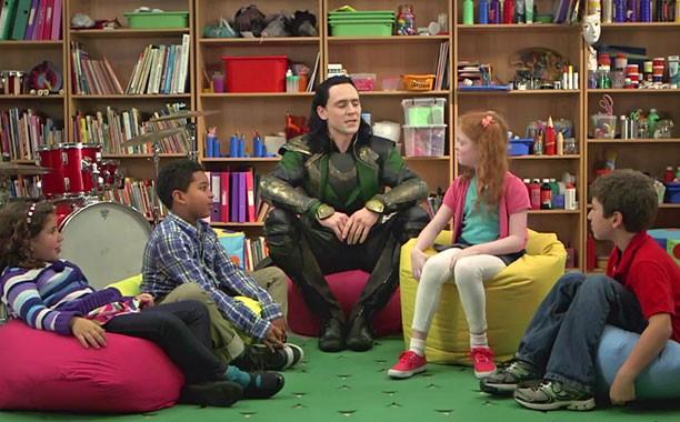 Loki Vs. Kids: Tom Hiddleston Spoofs His Bad Side In TV Spot For Thor: The Dark World