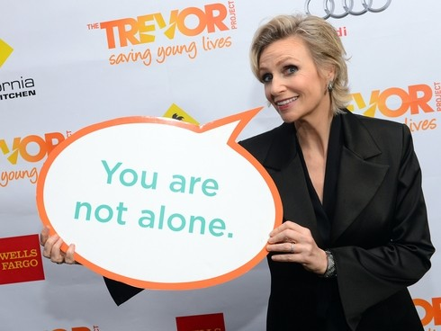 Trevor Project To Honour Jane Lynch At This Year's Trevor LIVE
