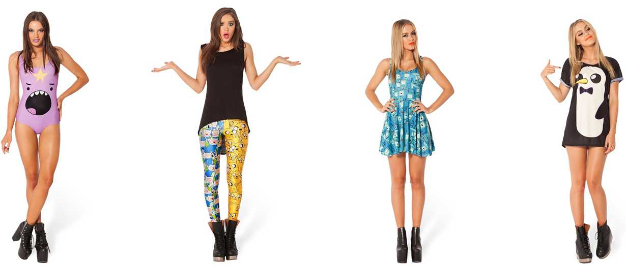 Black Milk Clothing Unveil New Clothing Line: Adventure Time
