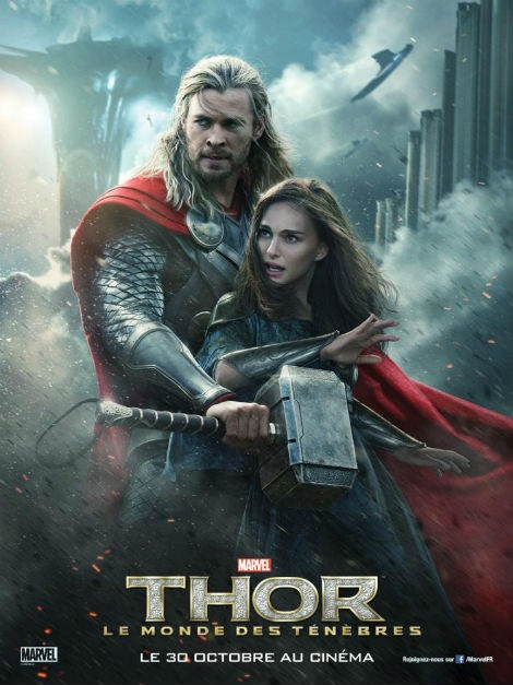 Chinese Movie Theatre Uses Homoerotic Fan Art Poster Of Thor: The Dark World