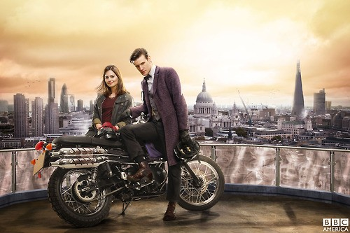 Jenna Louise Coleman Talks Matt Smith's Doctor Who Departure: