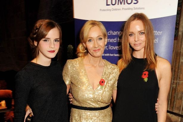 Emma Watson And JK Rowling Reunite At Rowling's Lumos Charity Event