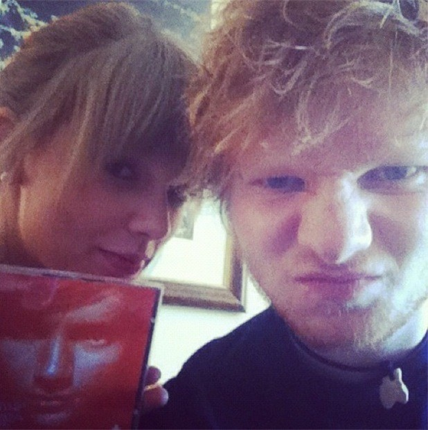 Taylor Swift Predicts Huge Success For Friend Ed Sheeran