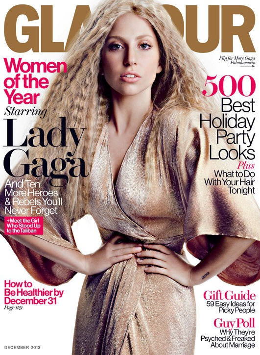 Lady Gaga Uses Glamour Cover Attention To Discuss Malala Yousafzai