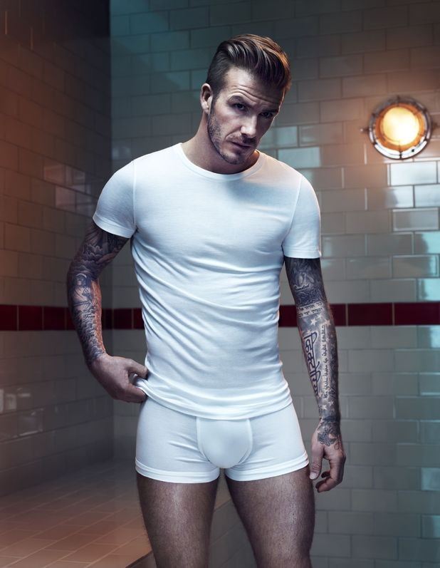 David Beckham Smolders In New H&M Underwear Campaign