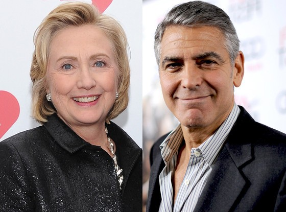 George Clooney Throws His Support Behind Hillary Clinton For President In 2016